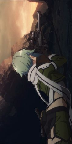 Sword Art Online Sword Art Online, Sao Kirito And Asuna, Sinon Ggo, Mai Waifu, Manga Anime, Anime Art, Asada Shino, Gun Gale Online, Character Wallpaper