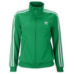 adidas Originals Firebird Track Jacket - Big Kids - Sport Inspired - Clothing - Fairway/White