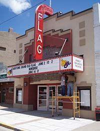 Flag Theatre in Hutchinson, KS