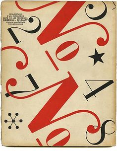 Publicite 1936, Charles Peignot [Directeur], Cover design by Jean Carlu