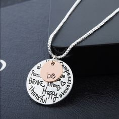 Two Pendant Be Necklace Beautiful and new! Jewelry Necklaces
