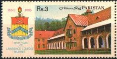 Pakistan Stamp 1985 - 125 Years celebration of Lawrence College