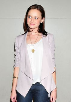 Alexis Bledel - for my FFF who owns two of these blazers