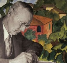 """""""Art is the contemplation of the world in a state of grace."""" - Hermann Hesse,  Klinsor's Last Summer"""