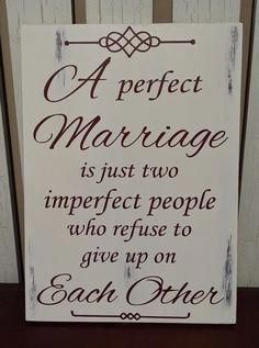 - Wedding - Birthday - Gift for Him or Her - A Perfect Marriage Rustic Wood Sign. - pinned by Anniversary - Wedding - Birthday - Gift for Him or Her - A Perfect Marriage Rustic Wood Sign. - pinned by Best Anniversary Gifts, Romantic Anniversary, Anniversary Ideas For Her, Husband Anniversary Quotes, 25th Wedding Anniversary Quotes, Anniversary Message, Anniversary Surprise, Unique Anniversary Gifts, Anniversary Boyfriend