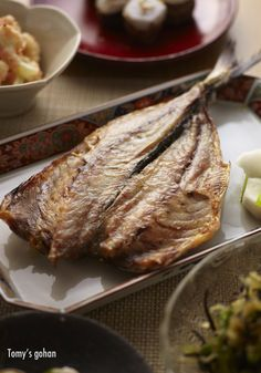 Dried horse mackerel 鯵の干物