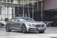 BMW 8/9 Series Rendered Once Again - http://www.bmwblog.com/2016/08/22/bmw-89-series-rendered-once-again/