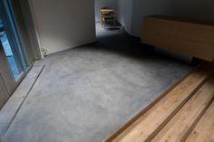 薄塗りで強靭な床に! モールテックス仕上げ|原田左官工業所