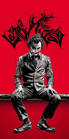 after 8 days of hard work. THE JOKER. The Joker Le Joker Batman, Joker Y Harley Quinn, Der Joker, Joker Art, Joker Comic, Joker Poster, Superhero Poster, Joker Images, Joker Pics