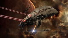 CCP is giving EVE Online players a chance to take off their space pilot hats and put on their space scientist hats. The Iceland-based developer has introduced a new mini-game to EVE Online that both rewards players and takes a cra. Spaceship Art, Spaceship Concept, Concept Ships, Concept Art, Online Comic Books, Sci Fi Spaceships, Space Battles, Sci Fi Ships, Found Object Art
