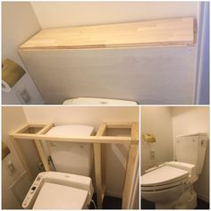 Diy Furniture Projects, Home Projects, Handmade Home Decor, Diy Home Decor, Bathroom Under Stairs, Comfort Room, Downstairs Toilet, Creation Deco, Flat Ideas