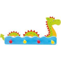 Diese Wandgarderobe In Wasserschlangen-Stil von goki schafft Ordnung in jedem Kinderzimmer. Durch ihre mehrschichtige Anordnung sorgt sie für einen 3D-Effekt! Außerdem bietet sie genügend Platz zum Aufhängen von Jacken, Taschen und Schals und sieht dabei auch noch absolut zauberhaft aus.<br /> <br /> +++Details+++<br /> + Garderobe mit 4 Haken<br /> + Maße: 33,5 x 16 x 5,5 cm <br /> + Material: Holz