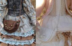 Маленькая сумочка для куколки своими руками - Ярмарка Мастеров - ручная работа, handmade