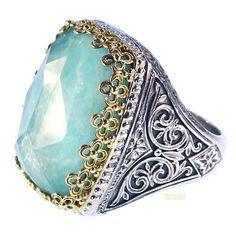 Pop Rocks Orthogonio Crown Ring