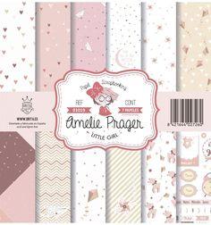 SET DE PAPELES LITTLE GIRL AMELIE Scrapbook Paper, Scrapbooking, Paper Paper, Amelie, Little Girls, Album, Digital, Paper Envelopes, Backgrounds