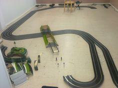 14.9.2014 New circuit under construction, grand opening will be after 10 days. - Uuden radan rakennustyömaa, avajaisiin on aikaa 10 päivää.