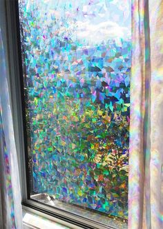 Shop the latest collection of Decorative Window Film Holographic Prismatic Etched Glass Effect - Fill Your House Rainbow Light 24 X 36 Panel - Crystal Pattern from the most popular stores - all in one place. Similar products are available.