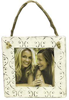 White Hanging Picture Frame