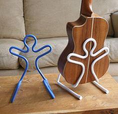 Boing Ukulele / Violin Stand - maybe ipad too? Flaithulach Music