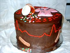 Nurse, Doctor, Medical, Cake