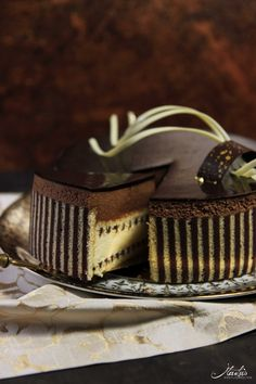Schokoladen Whisky Torte