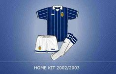 Scotland home kit for 2002-03.