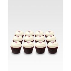 Georgetown Cupcake Love Dozen Collection/Red Velvet featuring polyvore home kitchen & dining food storage containers food cupcakes drop ship prgrm women