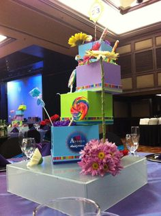 Willy Wonka Centerpiece by www.infinitypacts.com
