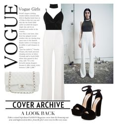 """""""white."""" by iinspire ❤ liked on Polyvore featuring Cushnie Et Ochs, Roland Mouret, Boohoo, Steve Madden and Karl Lagerfeld"""