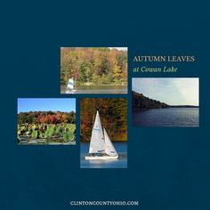 Today is THE day to plan your next weekend to see the autumn leaves at Cowan Lake State Park! Reserve your boat at Taylor's South Shore Marina, Decide which Barn Quilts on the Clinton County Bicentennial Barn Quilt Trail you'll see on the way there & back...  http://clintoncountyohio.com/list/parks/parks-cowan-lake-state-park  Heck, make it a weekend & catch a show at The Murphy Theatre & stay at one of our comfortable hotels & catch brunch on Sunday!   #ohio #autumnleaves #familytravel