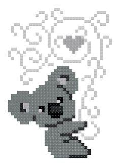 Stitch a Koala, Help a Koala – Needlepoint 2020 Pdf Patterns, Quilt Patterns, Crochet Patterns, Koala Craft, Cute Cross Stitch, Day Book, Bushfires In Australia, Fox Design, Modern Cross Stitch Patterns