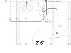 Plumbing Rough In Dimensions