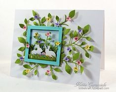 KC Impression Obsession Rabbit Set 2 right_thumb Card Making Inspiration, Making Ideas, Impression Obsession Cards, Memory Box Cards, Scrapbook Cards, Scrapbooking, Card Tags, Paper Cards, Creative Cards