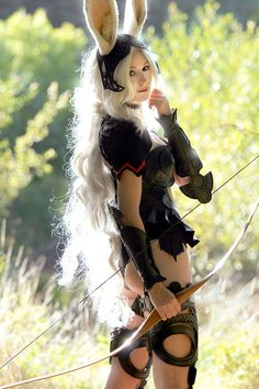 final fantasy cosplay fran - Google Search