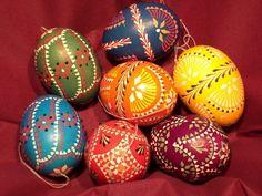 Sorbische Eier in Wachstechnik