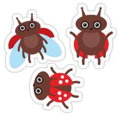 http://www.redbubble.com/people/ekaterinap/works/21426206-funny-ladybugs