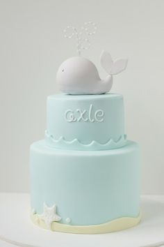 Whale cake ...by Hello Naomi #cakes