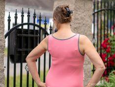 Sportovní těhotenské šaty s lodičkovým výstřihem 3v1 (šaty, sukně, tílko) 34 – 56 – Caramilla.cz Athletic Tank Tops, Women, Fashion, Moda, Fashion Styles, Fashion Illustrations, Woman