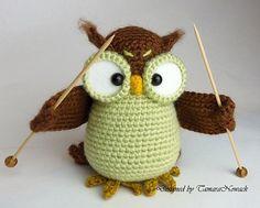 Ravelry: Owl Shalette pattern by Tamara Nowack