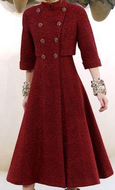 abrigo- vestido Chanel Haute Couture Autumn 2010