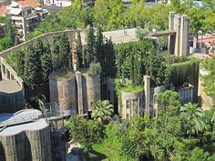 Many fabulous photos of the ones abandon cement factory, now the home of an Italian architect.