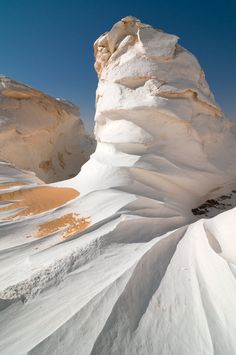 Egypt, White Desert...wait...shouldn't it be white dessert, looks a lot like whipped egg whites