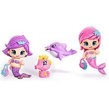PinyPon Mermaid Doll - Colors/Styles vary by Famosa America. $11.70. Pinypon mermaid comes with an under the sea theme and an underwater pet.