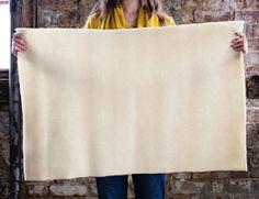 Kentucky Prefelt THICK WHITE 2 ft. X 3 ft. backing for felting