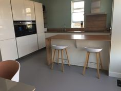 Our kitchen, I just love it!    #interior #kitchendesign #kitchen #interiordesign #scandinavian #scandinaviandesign #gietvloer