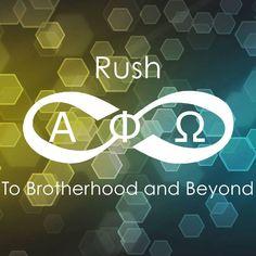 """Spring 2015 Rush Theme of the Alpha Phi Chapter: To Brotherhood and Beyond! #APO #LFS @APOStaff"" From Alpha Phi Chapter - Wash U"