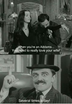 I fully support this notion, even if you're not an Addams :-P