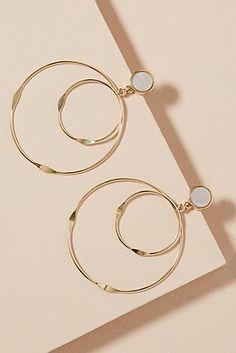 Tiny Stud Earrings, Simple Earrings, Silver Hoop Earrings, Silver Jewelry, Ear Jewelry, Cute Jewelry, Modern Jewelry, Bridal Jewelry, Jewellery