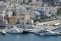 The charming city of Nice, France - Nice's Port