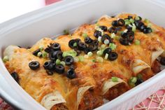Chicken Enchiladas and a Really Cool Tip for shredded chicken on MyRecipeMagic.com